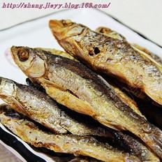 香酥炸干鱼的做法