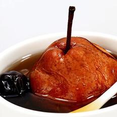 冰糖桂花红枣炖红梨