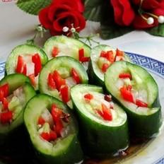 酸辣黄瓜卷的做法