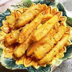 梅子黄金薯条的做法