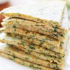 海藻胡萝卜豆渣饼