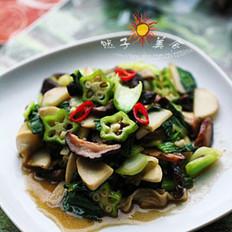 清炒雜蔬的做法