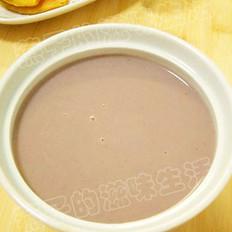 黑米红枣花生浆