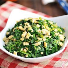 香麻蒿菜的做法