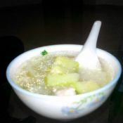 葫瓜瘦肉汤