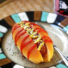 胡萝卜热狗包