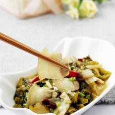 川式泡菜白肉的做法