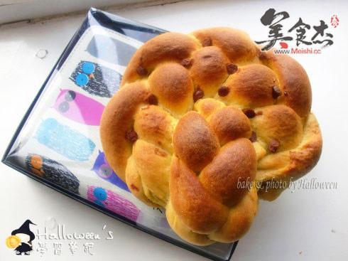 南瓜面包的做法【步骤图】_菜谱_美食杰