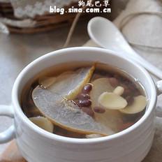 蜜豆百合雪梨汤的做法