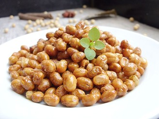 小零食五香椒盐酥黄豆的做法