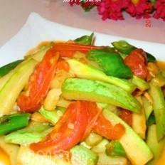 茄汁笋瓜条