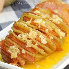 土豆烤香肠