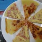 奶酪火腿小煎饼