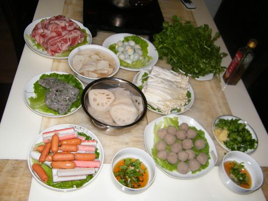 火锅鸡汤的做法_家常鸡汤辣椒的火锅【图】鸡腌做法腌菜的做法图片