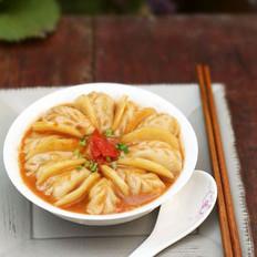 番茄土豆炖饺子的做法