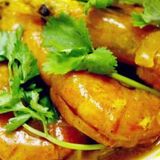 咖喱大虾的做法