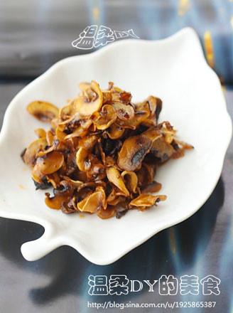 干香双孢菇片的做法