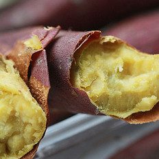 高山烤番薯的做法