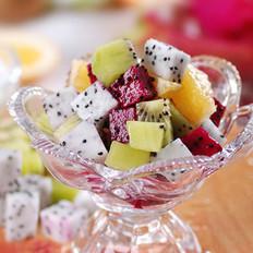 水果酸奶的做法