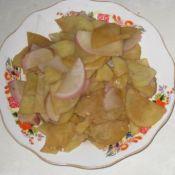 红萝卜炒土豆的做法