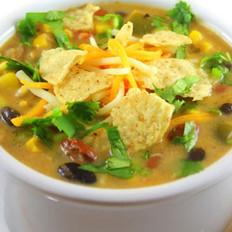 墨西哥玉米饼火鸡汤