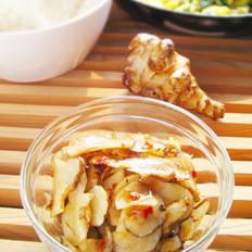 生拌洋姜的做法
