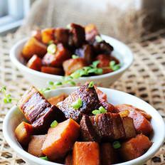 甜薯红烧肉的做法