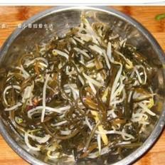 绿豆芽炒海带丝