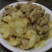 咖哩土豆块