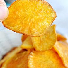 自制炸薯片的做法