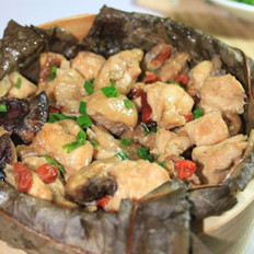 冬菇枣杞荷香鸡的做法