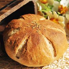 蒜蓉香草面包的做法