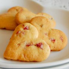 爱心玫瑰饼干