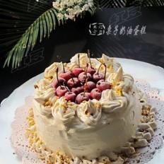 栗子奶油生日蛋糕的做法
