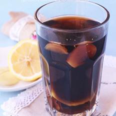 柠檬可乐生姜茶的做法