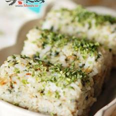 日式芥末饭团的做法