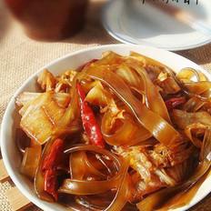 大白菜炖粉条的做法