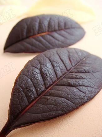 自制巧克力树叶的做法