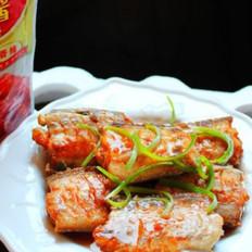 麻辣酱蒸带鱼的做法