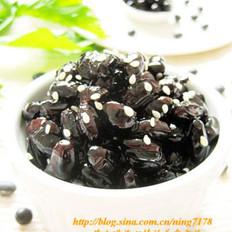 韩式蜜黑豆的做法