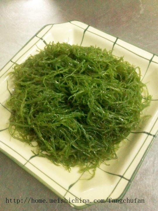 上汤海野菜的做法