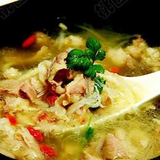 萝卜砂锅羊肉汤的做法