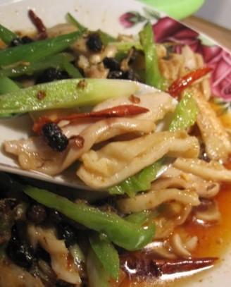 青蒜炒猪肚的做法【图】豆豉青蒜炒猪肚的家常做法大全怎么做好吃视频