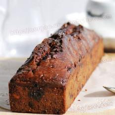 葡萄干鲍鱼果红糖蛋糕