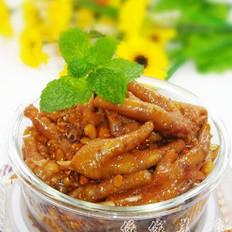 黄豆焖鸡脚的做法