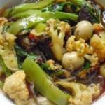 牛油冒菜火锅的做法