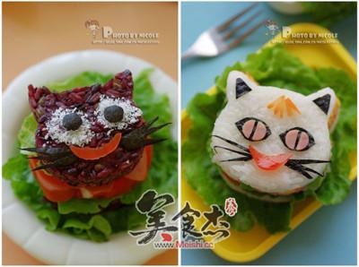 黑白双猫童趣米汉堡BA.jpg