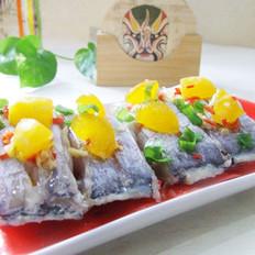 蛋黄焗带鱼的做法