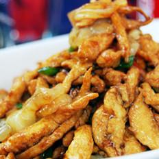 酱爆海蜇鸡丝的做法