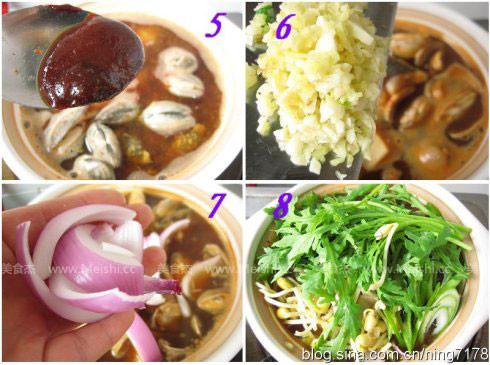 韩国锅菜很有名 学做韩国辣鱼汤; 韩国辣鱼汤的做法; 爱韩式美食 爱图片